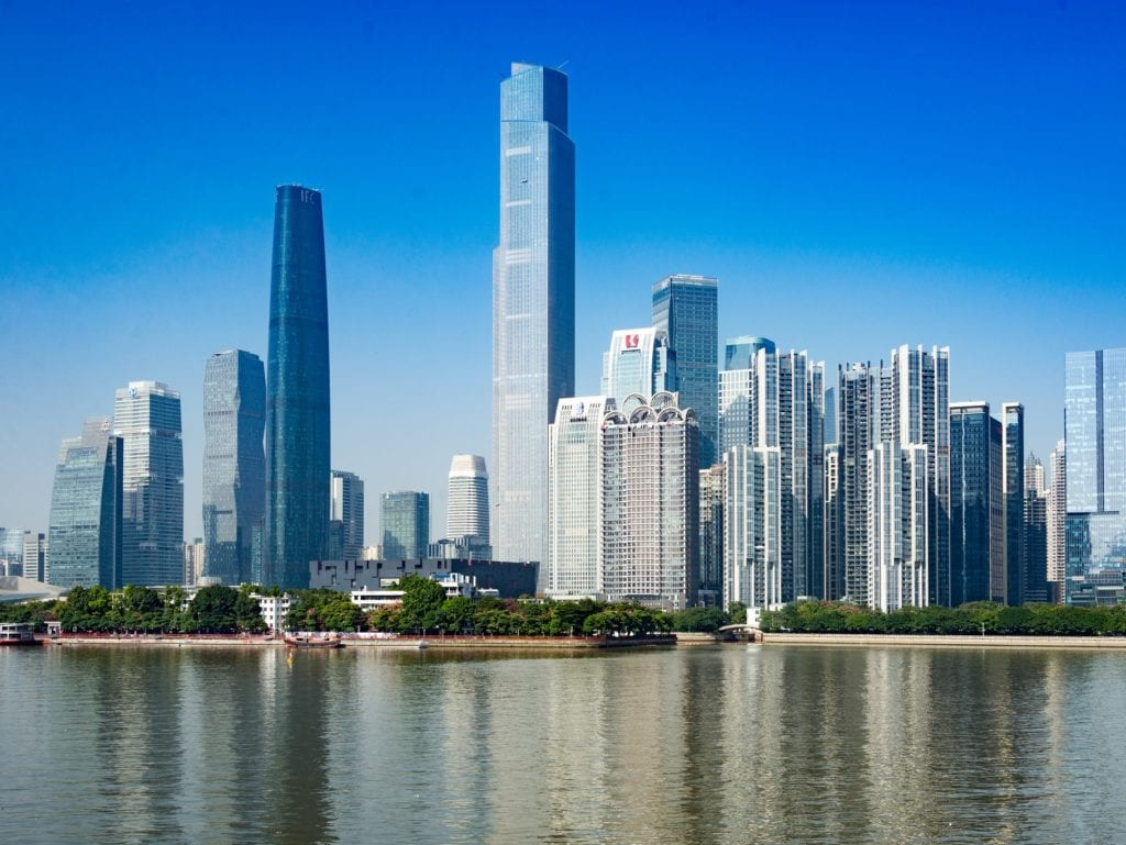 Guangzhou city, capital of Guangdong.