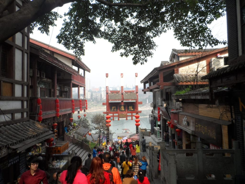 Chongqing ancient town