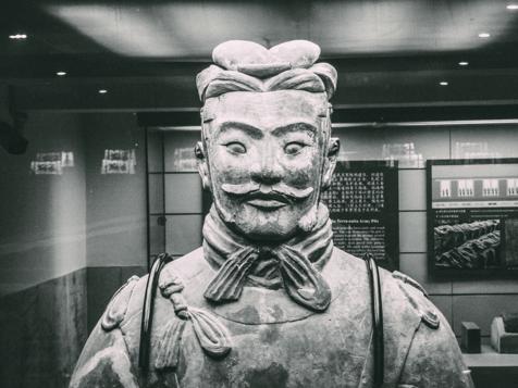 Terracotta warrior, Xian