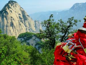 Stunning Hua mountain in Shaanxi province
