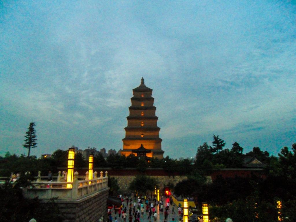 Wild goose Pagoda, Xian, Shaanxi